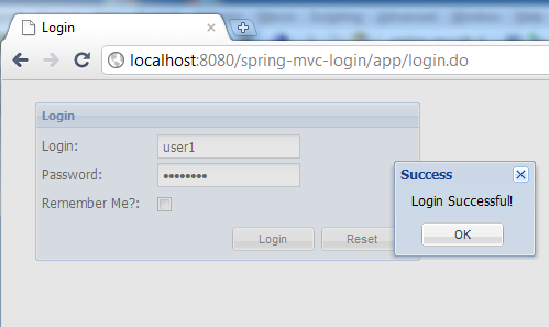 Customizing Spring Security Login using ExtJS – CoreDump